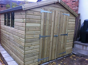 10x8 Tanalised Apex Shed