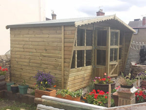 16x8 Tanalised Summerhouse