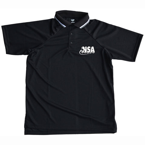 NSA Black Umpire Shirt