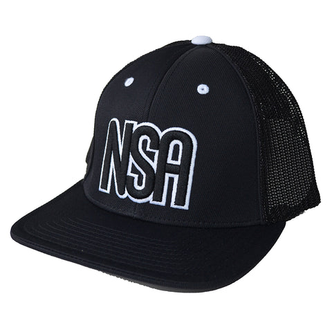 NSA Flex Fit Mesh Base Hat
