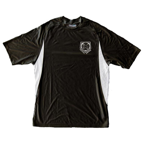 NSA Black Dri Fit Umpire Shirt