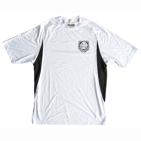 NSA White Dri Fit Umpire Shirt