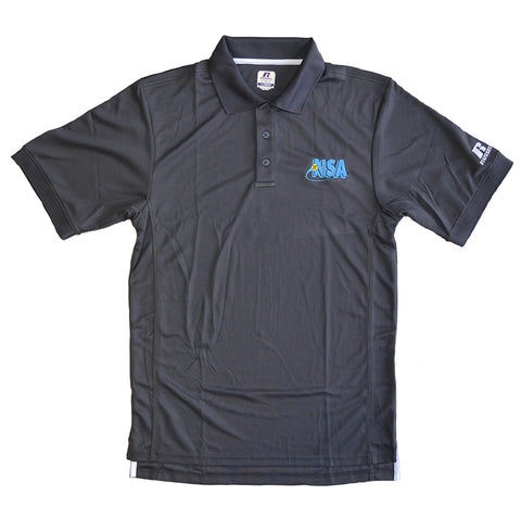 NSA Grey Polo Shirt