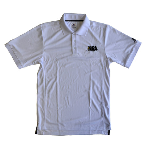 NSA White Polo Shirt