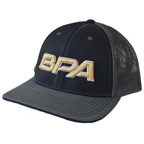 BPA Flex Fit Mesh Hat - 404M Black / Graphite
