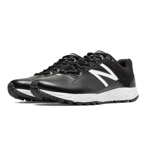 New Balance Low Cut Umpire Base Shoe - Black/White