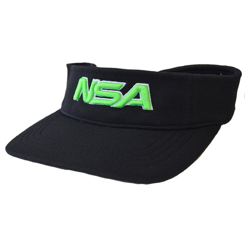 NSA Adjustable Visor - 598 Black