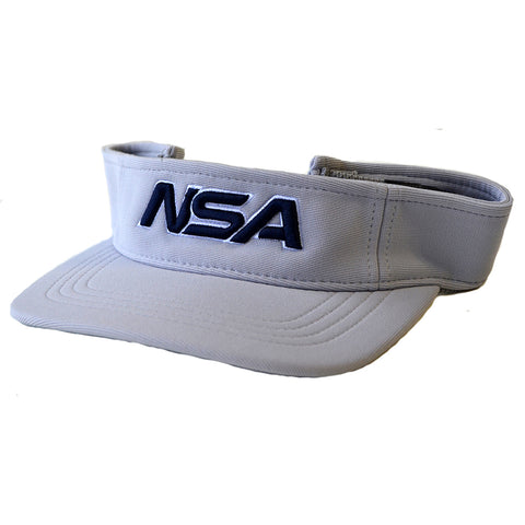 NSA Adjustable Visor - 598 Silver