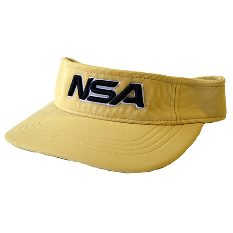 NSA Adjustable Visor - 598 Vegas Gold