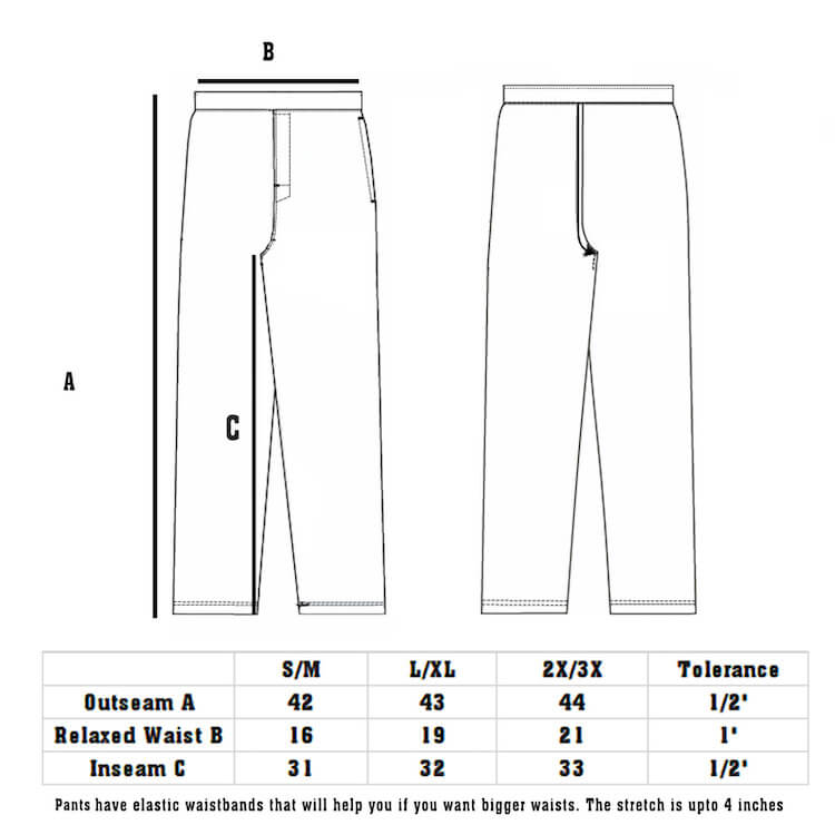 Size Chart DudeRobe Men's Luxury Pants.jpeg