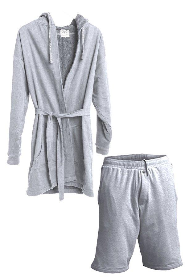 Sets - Luxury Men's Bathrobe & Shorts Combo