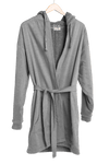 Luxury Men's Hooded Bathrobe