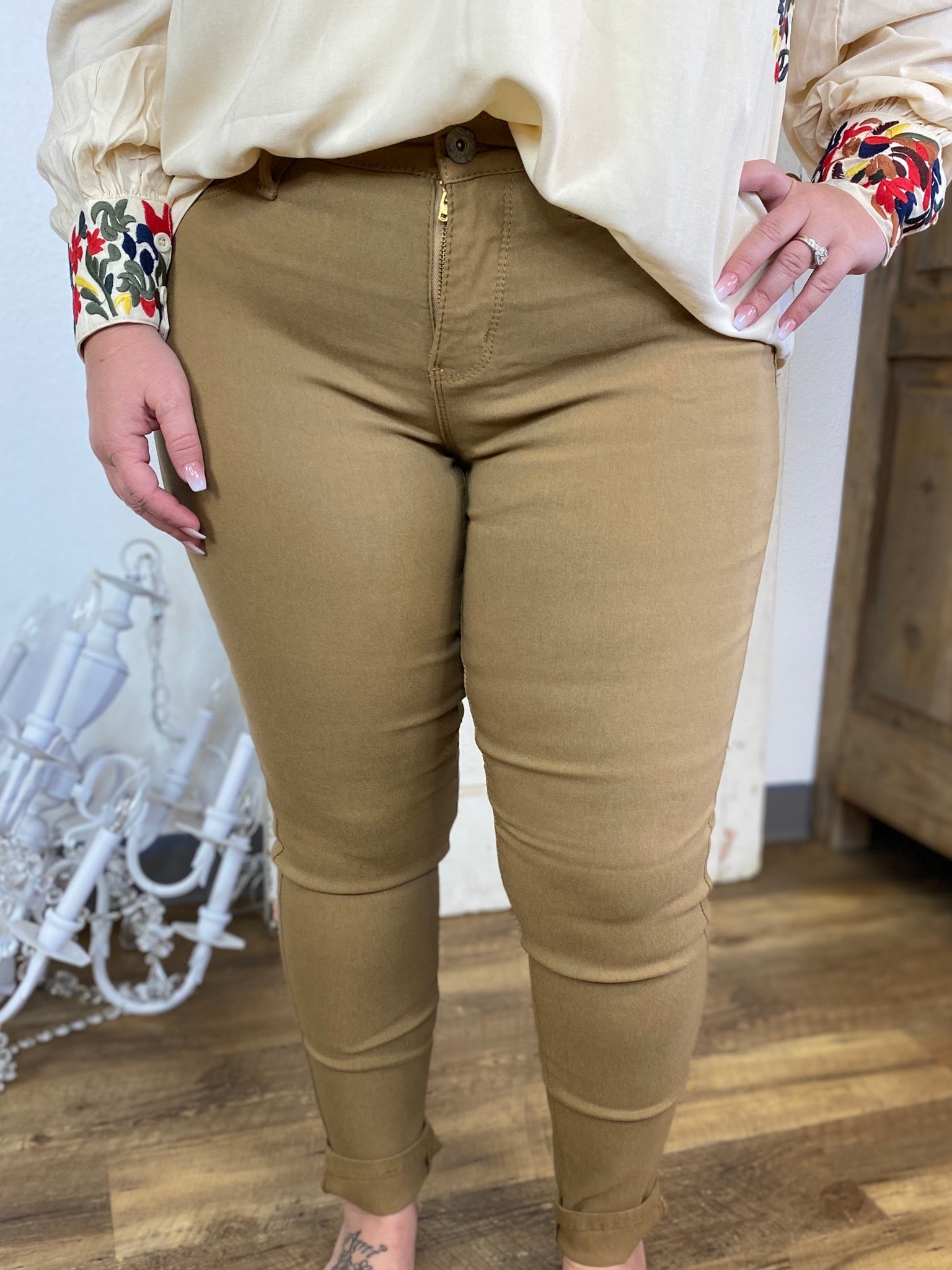 Harvest Skinny Leg Teacher Pants (4P-14P)