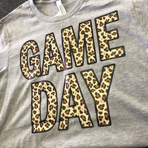 GAME DAY Tee in Leopard