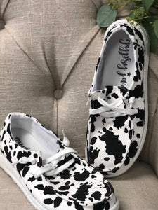 Cow Holly Sneakers