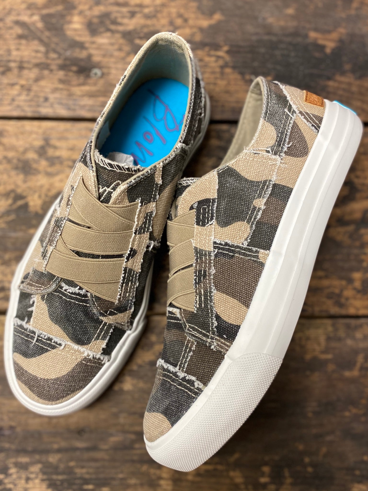 Natural Camo Blowfish Marley Sneakers