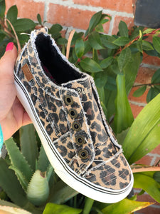 Kids Blowfish Play Leopard Sneakers (Toddler & Youth)