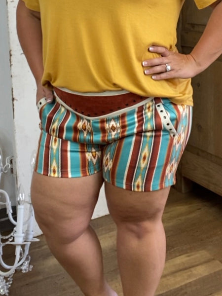 Rust Vegabond Shorts