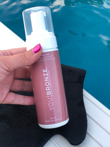 You Bronze Self Tanning Mousse (Mitt sold seperately)
