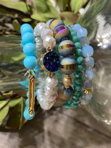 So Put Together Bracelet Set - Moody Blues