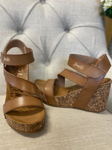 Blowfish Arabian Sand Dyecut Cork Wedges