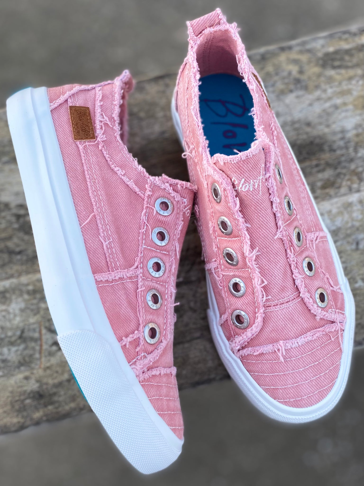 Dusty Pink Hipster Smoked Blowfish Sneaker