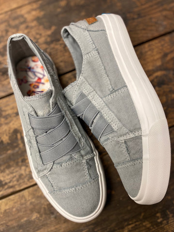 Sweet Gray Marley Blowfish Sneakers