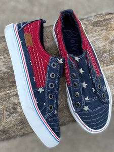 Blowfish Play Navy Star Sneakers