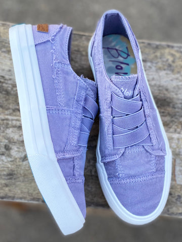 Dusty Lavender Dusk Washed Blowfish Sneakers