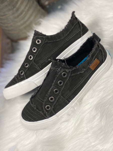 Black Smoked Blowfish Play Sneakers