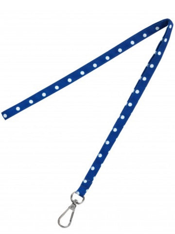 Royal Dot Lanyard