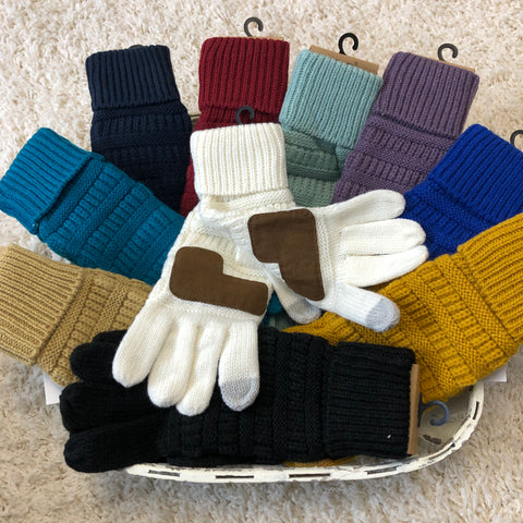 CC Knitted Gloves (13 colors)