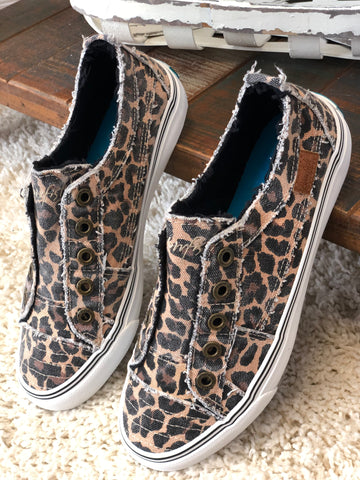 Leopard Blowfish Sneakers