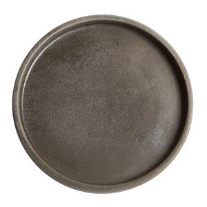 Brown Shallow Plate
