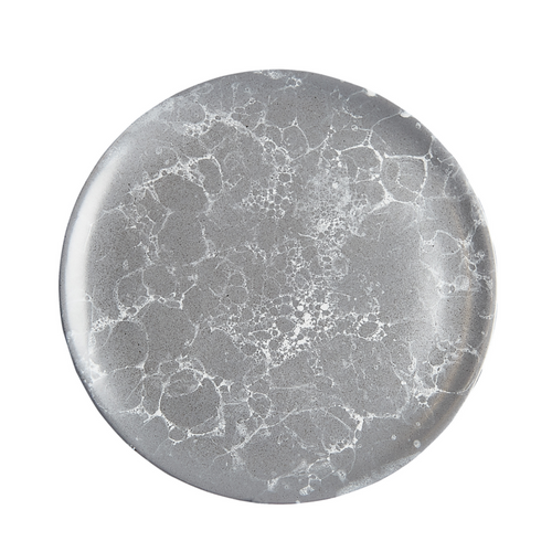 Grey Marble Plate
