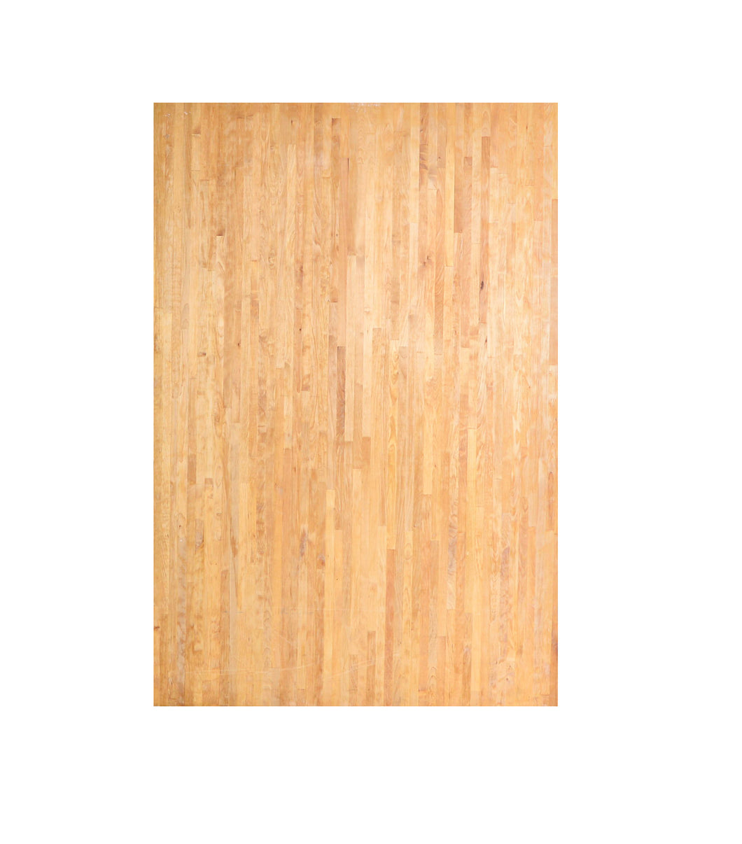 Lg Two-Toned Light Natural Wood Butcher Block
