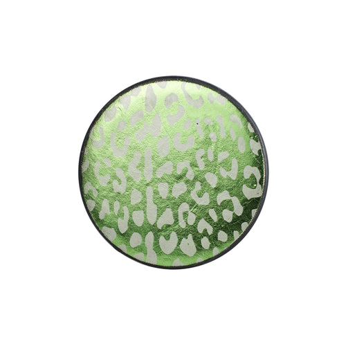 Green Cheetah Coaster