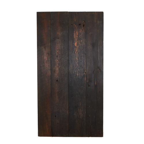 Lg Dark Natural Wood Door