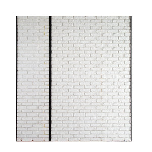 XL And Md White Brick Wall (2 Sections)