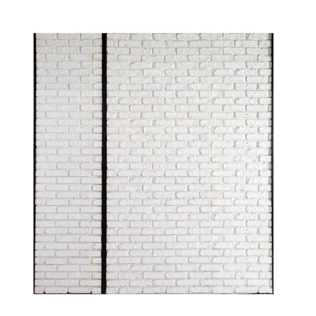XL White Brick Wall (2 sections)