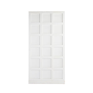 XL White Grid Panel Wall (2 Sections)
