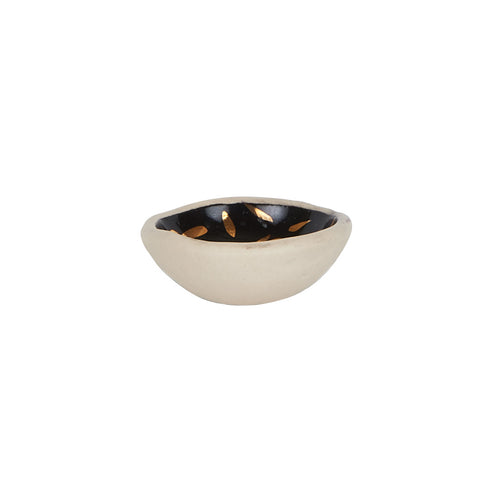 Sm Black Pinch Bowl