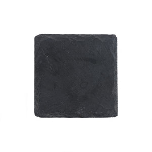 Square Black Stone Coaster