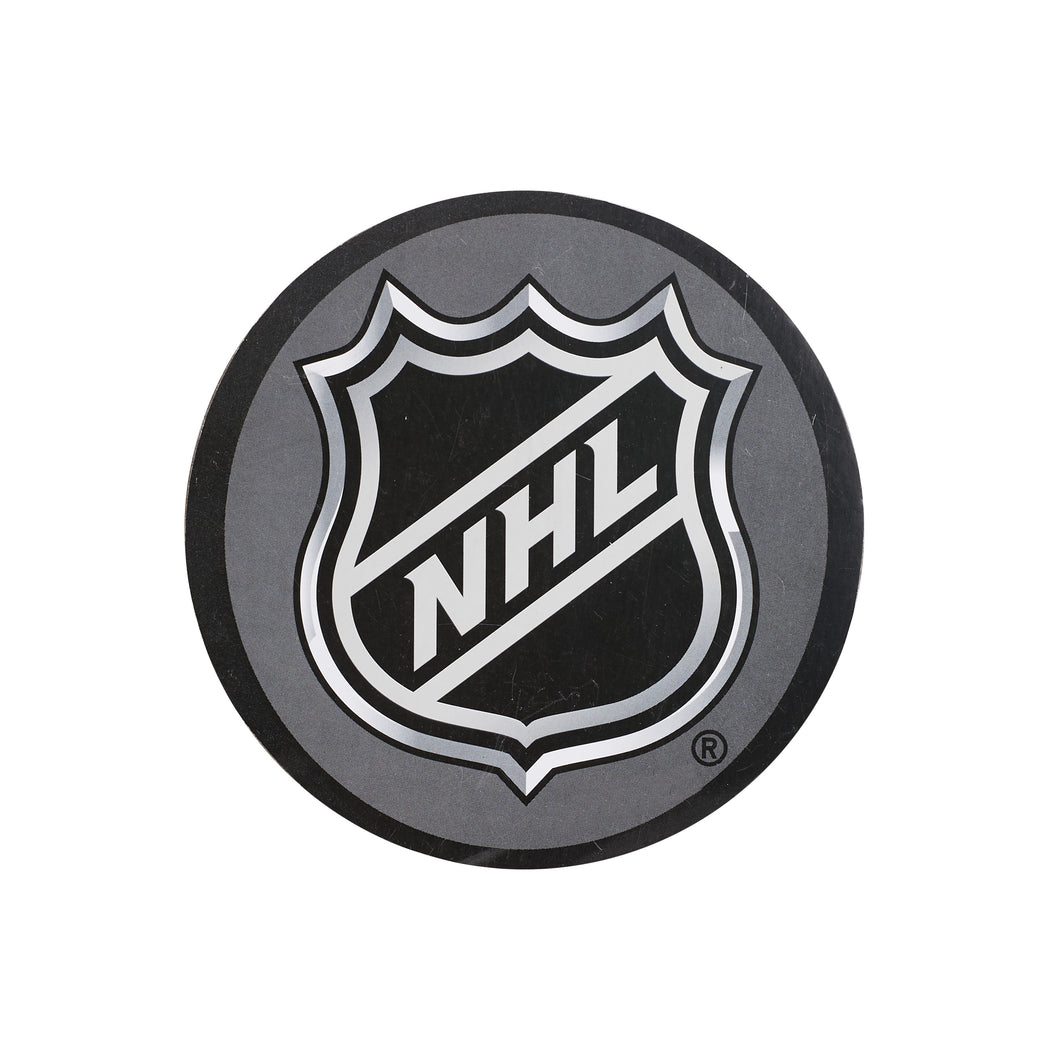 Black NHL Paper Coaster