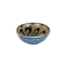 Md Multi-Coloured Blue Bowl