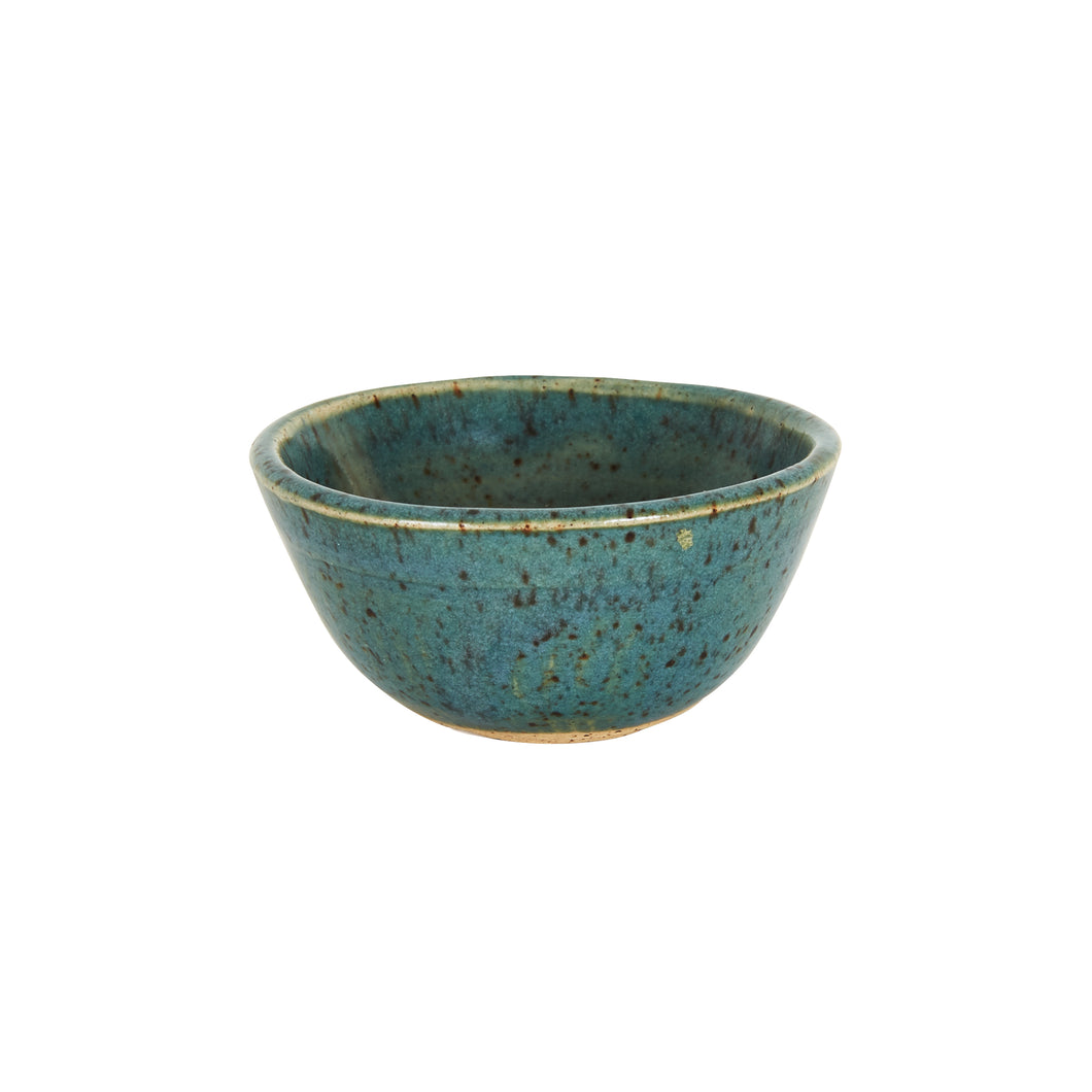 Sm Blue Bowl With Speckles