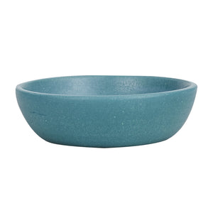Sm Dark Turquoise Pinch Bowl