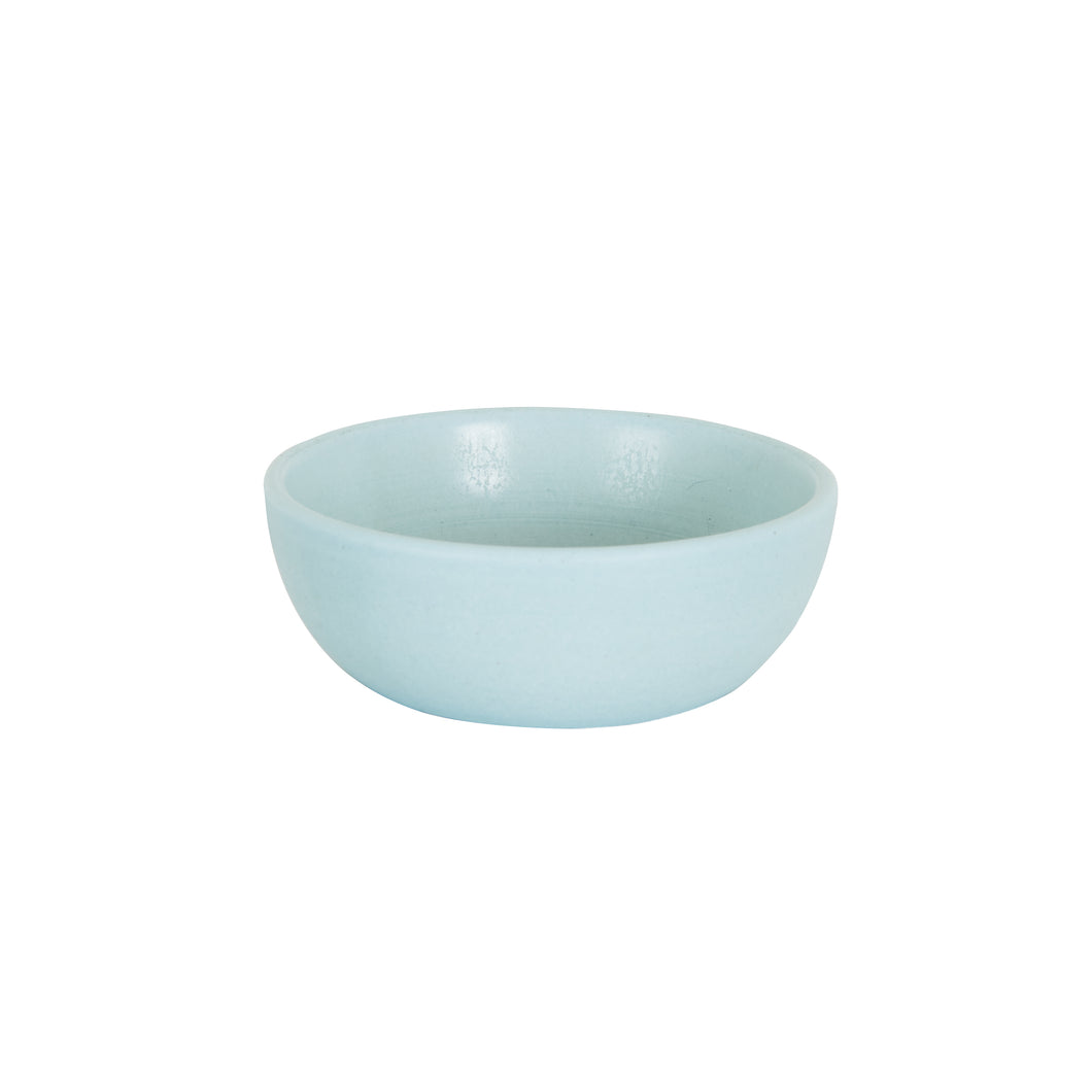 Sm Shallow Pale Blue Bowl