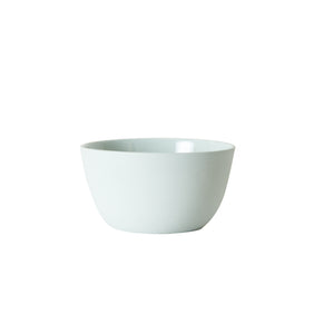 Sm Muted Light Blue Bowl With Matte Exterrior