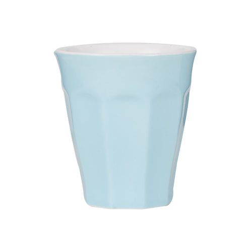 Sm Light Blue Cup With White Interior